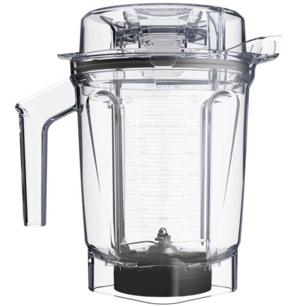 Vitamix 2500i RD Ascent A2500i Smart Power Blender, Boccale da 2 Litri_0
